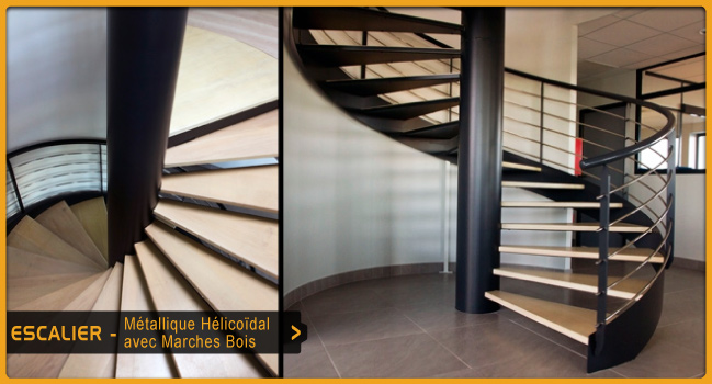 Escaliers ouest serrurerie for Cage escalier exterieur