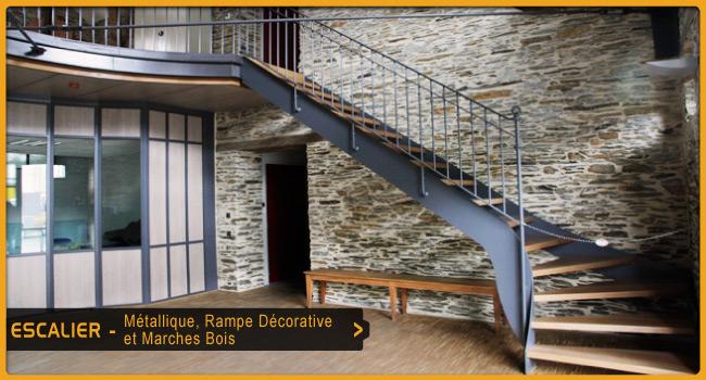 escaliers ouest serrurerie. Black Bedroom Furniture Sets. Home Design Ideas